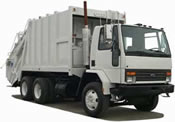 truck for garbage disposal